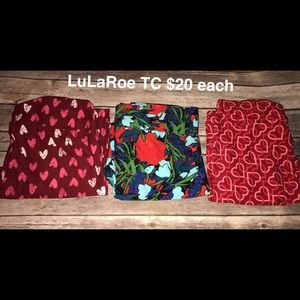 LuLaRoe Valentines Leggings Cheap